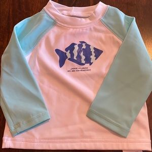 Janie and jack nwt 6/12 rash guard